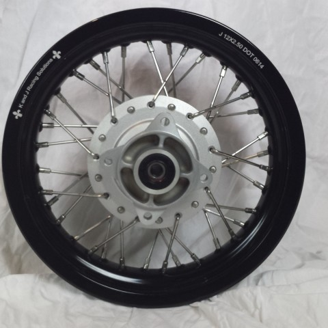 cRF125F rear complete wheel