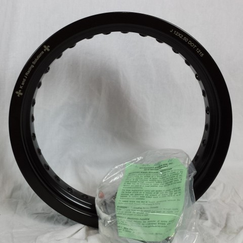 RM85 rear rim and spoke kit
