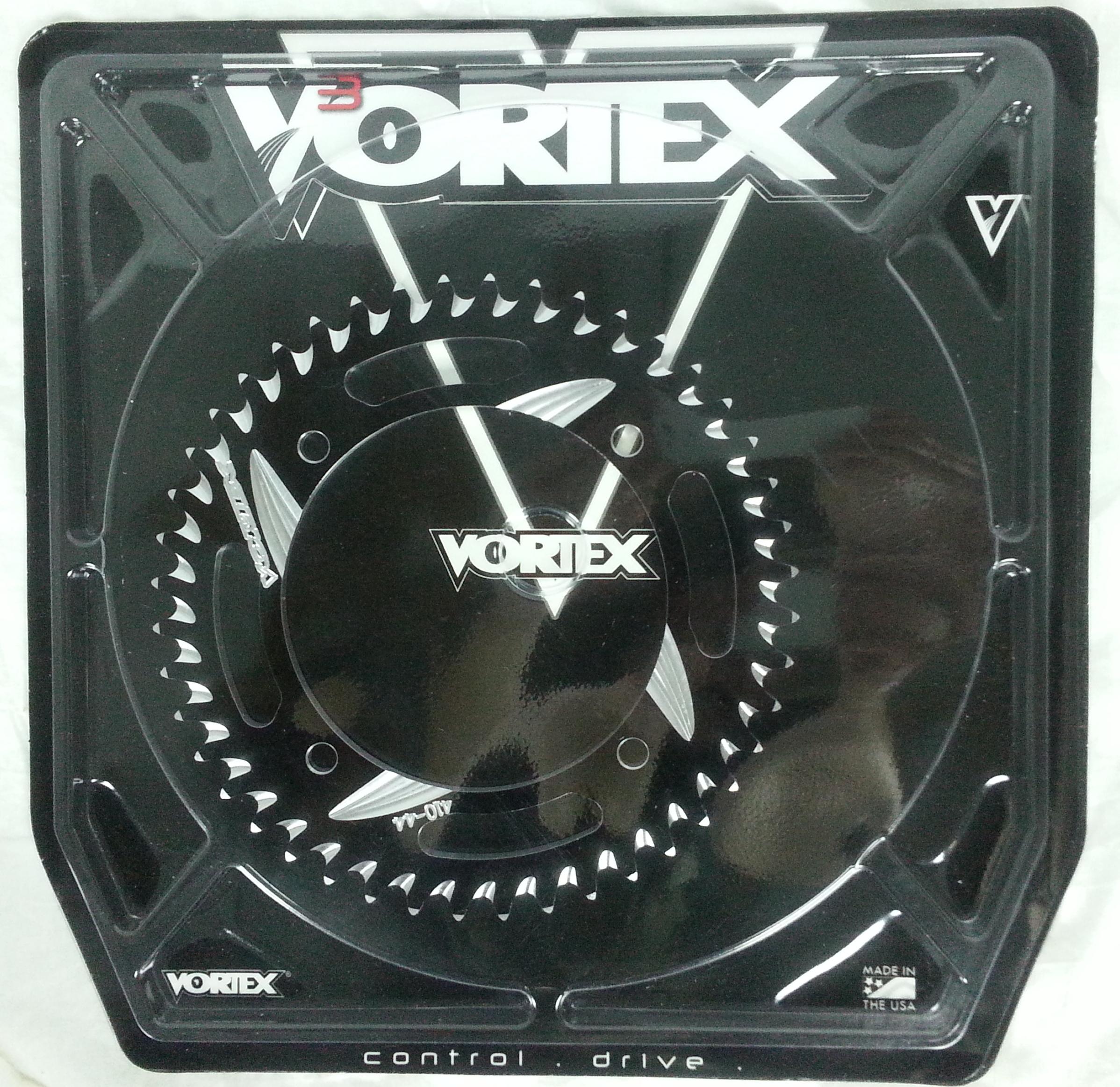 Vortex 822CZR-38 Red 38-Tooth Rear Sprocket