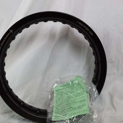YZ85 RM85 front rim and spoke