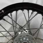 TTR125 front wheel close up