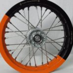 KTM rear wheel orange