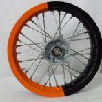 KTM front wheel orange