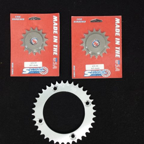 YZ85 Sprocket set